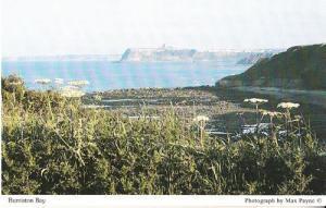 Burniston Bay Scarborough River Yorkshire Boat Rare Arial Ariel Photo Postcard