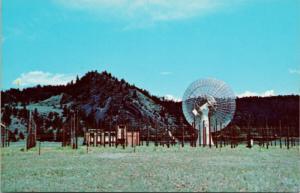 Dominion Radio Astrophysical Observatory Penticton BC Vintage Postcard D78