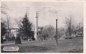 Pennsylvania Hazleton Memorial Park 1940