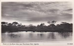 RP: Dawn on the Nile , near Murchison Falls , Uganda , 30-50s