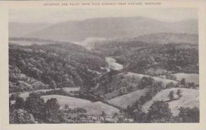 Maryland Oakland Mountain And Valley From State Highway Artvue