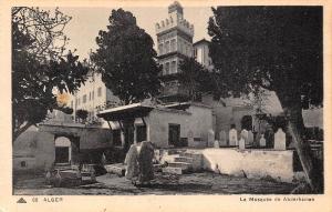 Algeria Alger La Mosquee de Abderhaman