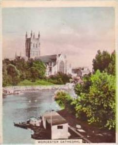 R J Hill Vintage Cigarette Card Views Of Interest 1938 1st Series No 30 Worce...