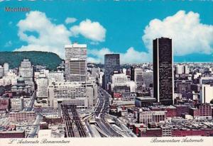 Canada Montreal Bonaventure Auturoute