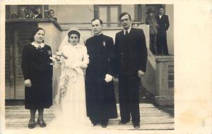 Foto Bodor Gabor Szamosujvar Gherla Transylvania Cluj Wedding Photo Postcard