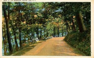 NY - Croton Lake. Roadside at the Reservoir