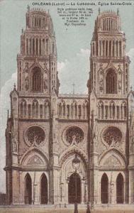 La Cathedrale, Eglise Sainte-Croix, Orleans (Loiret), France, 1900-1910s