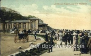 Mount Royal Lookout Montreal Canada 1911