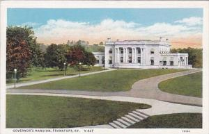 Kentucky Frankfort Governors Mansion