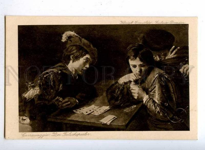 189896 PLAYING CARDS Cheater by MICHELANGELO Vintage PC