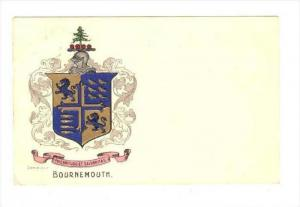 Coat of Arms Bournemouth, England , PU-1906