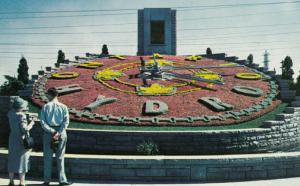 NIAGARA FALLS, Ontario, Canada, 40-60s; Ontario Hydro Floral Clock