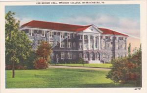 Senior Hall, Madison College, Harrisonburg Virginia 1930-40s