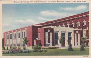 Iowa Cedar Falls Women's Swimming Pool & Gymnasium Iowa State Teachers Colleg...