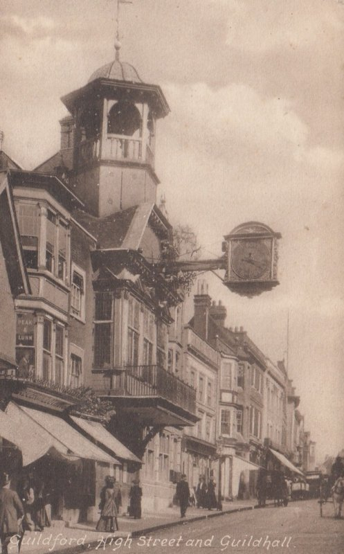 GUILDFORD , England , 1900-10s ; High Street