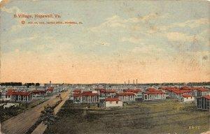 LP98 Hopewell Virginia Vintage Postcard B Village