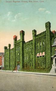 CT - New Haven. Second Regiment Armory