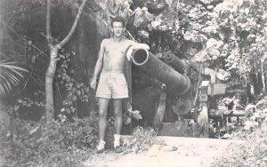 Gun Beach 1950 Guam Unused
