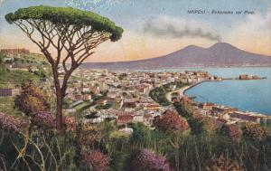 NAPOLI, Panorama col Pino, PU-1926
