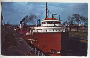 P834 1963 the soo locks sault ste marie michigan, benjamin f fairless ship