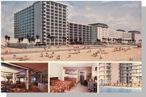 Daytona, Florida/FL Postcard, The New Plaza Hotel & Resort