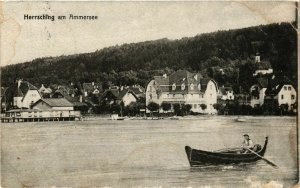 CPA AK Herrsching am Ammersee - Ansicht - View GERMANY (962599)