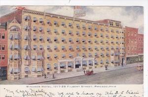 Pennsylvania Philadelphia Windsor Hotel 1906