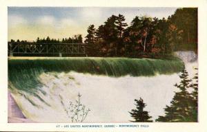 Canada - Quebec. Montmorency Falls