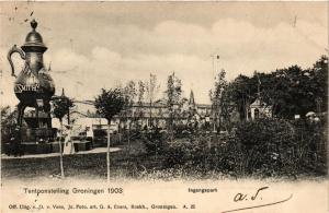 CPA Tentoonstelling GRONINGEN 1903 Ingangspark NETHERLANDS (604107)