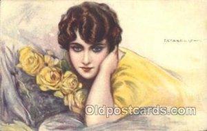 Series 250-5 Tito Corbella (Italy) Artist Signed 1919