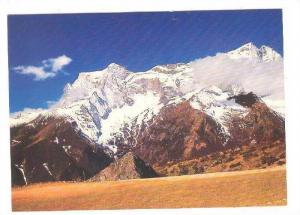 Mt. Kwangde as seen from Khumjung, Nepal, 50-70s