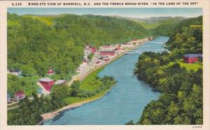 And The French Broad River Birds Eye View Of Marshall North Carolina