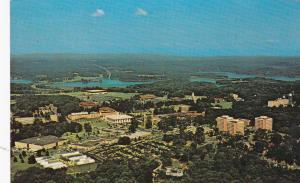 Aerial view of Clemson University Campus , CLEMSON , South Carolina , 50-60s