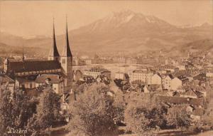Bird's Eye View, LUZERN, Switzerland, 1900-1910s