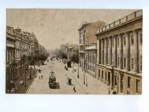 249753 UKRAINE ODESSA Lenin street TRAM Vintage Odespoligraph