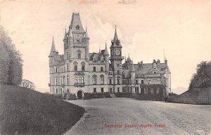 Dunrobin Casle, North Front Scotland, UK 1908
