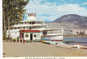 The S.S. Sicamous Sternwheeler at Penticton,  B.C.,  Canada,   50-70s