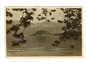 RP, View Across Lake Of Town At Foot Of Mountain, Bellagio, Italy, 00-10s