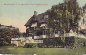 Residence Of F. L. Andrews, New Bethlehem, Pennsylvania, PU-1915