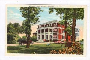 Anderson County Hospital, Anderson, South Carolina, 1910-1920s