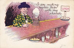 PU-1906; I Am Making Regular Trips With My Schooner