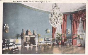 Washington DC Blue Room White House