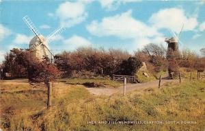 Jack and Jill Windmills, Clayton, South Downs