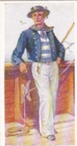 Carreras Vintage Cigarette Card Naval Uniforms No 34 Seaman Of The Blazer 1845