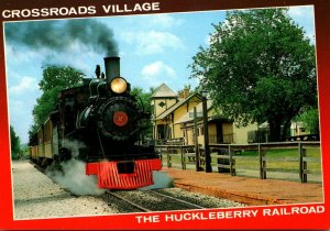 Michigan Flint Crossroads Village The Hucleberry Railroad
