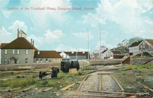 Alaska Douglas Island AYPE Seal 1909 Mining Treadwill Portland postcard 7204