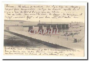 Royan Old Postcard L & # 39estacade