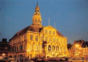 Netherlands Maastricht, Markt met Stadhuis Cars Voitures Town Hall