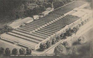 SPRINGFIELD , Vermont, 1930s ; Jones & Lamson Machine Shop