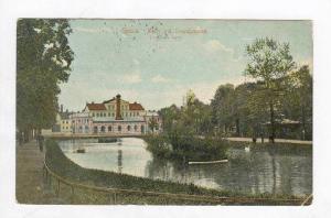 Upsala, Sweden, PU-1911  Motiv vid Svandammen